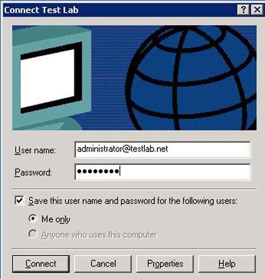 connec tto VPN