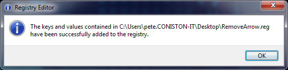 Merge Registry Key