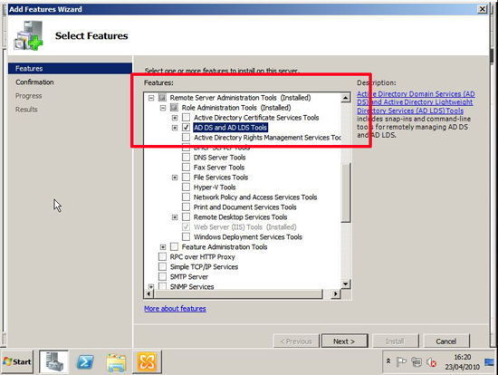 Exchange 2010 Exchange Features