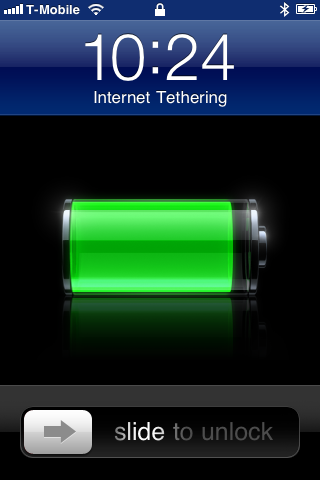 internet tethered