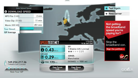 usb speedtest