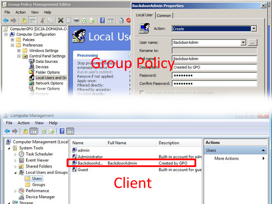 GPO Add local administrators