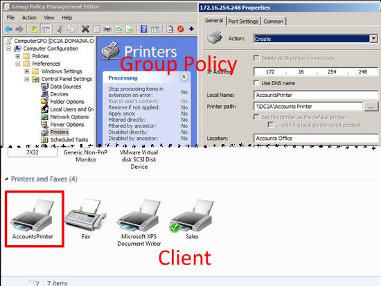 GPO Deploy Printers