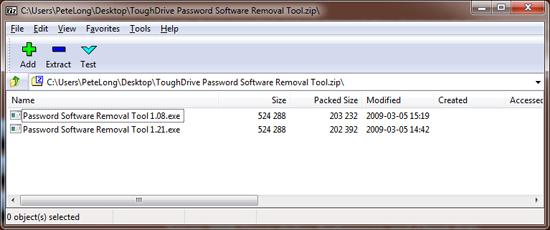 password software removal tool