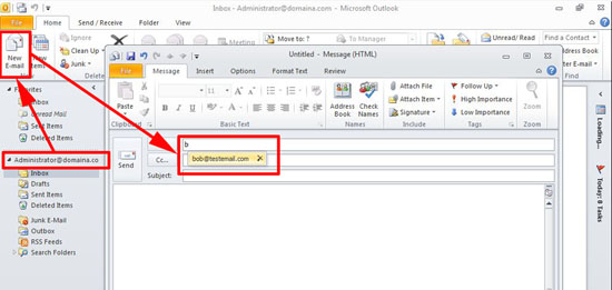 outlook autocomplete