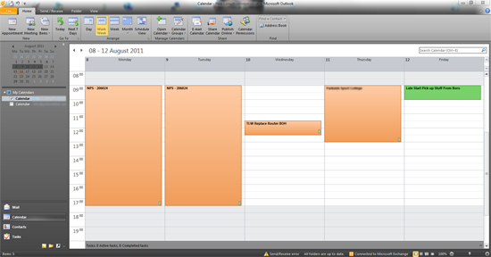 calendar colours gone