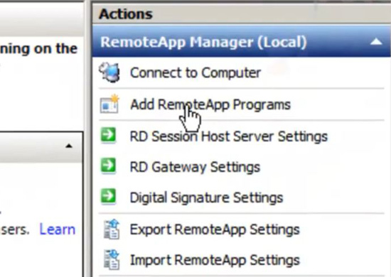 install remote desktop services
