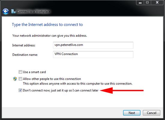 L2TP VPN Details