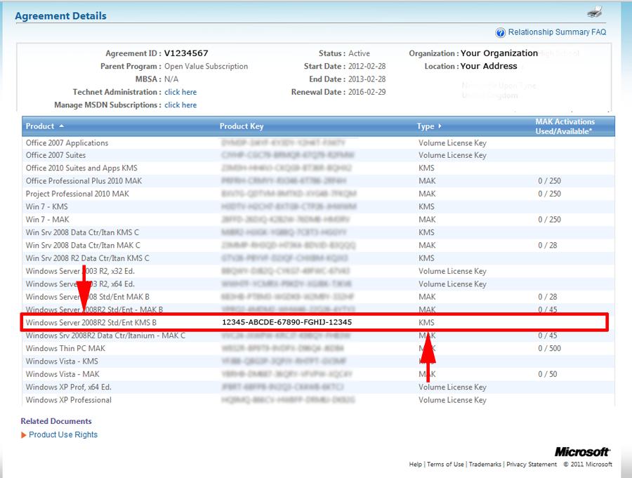 Начал раздачу МАК-ключей для Windows Server 2008. Ratio 12.927