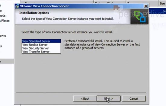 VMware View Standard Server