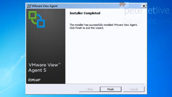 Install VMware View Agent
