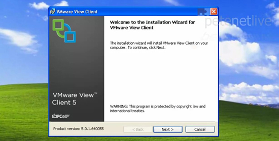 VMware View Install Client