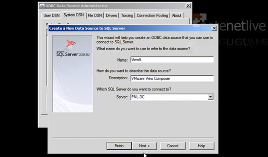 Composer ODBC Settings