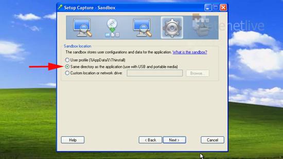 USB Sandbox