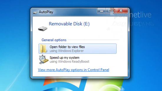 USB Dialog