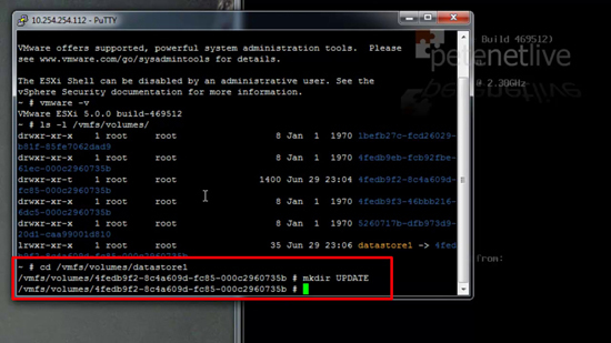 ESX Create Directory