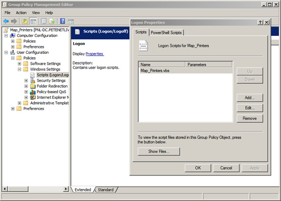 Group Policy Logon Script