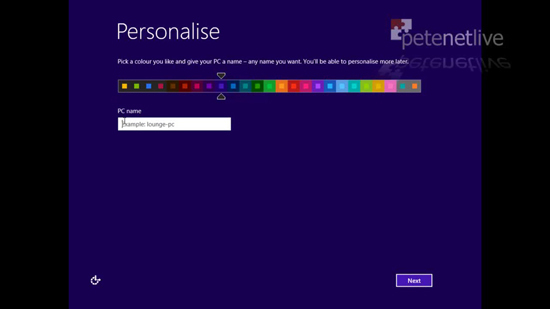 Personalise Windows 8
