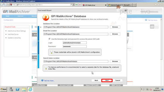MailArchiver Firebird Database