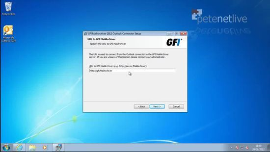 GFI MailArchiver Mailbox