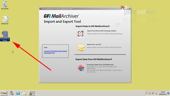 Exported Mail from GFI
