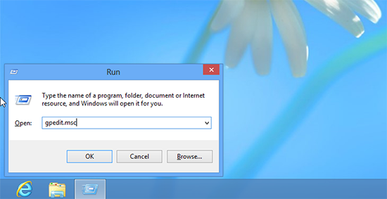Windows 8 Local Policy