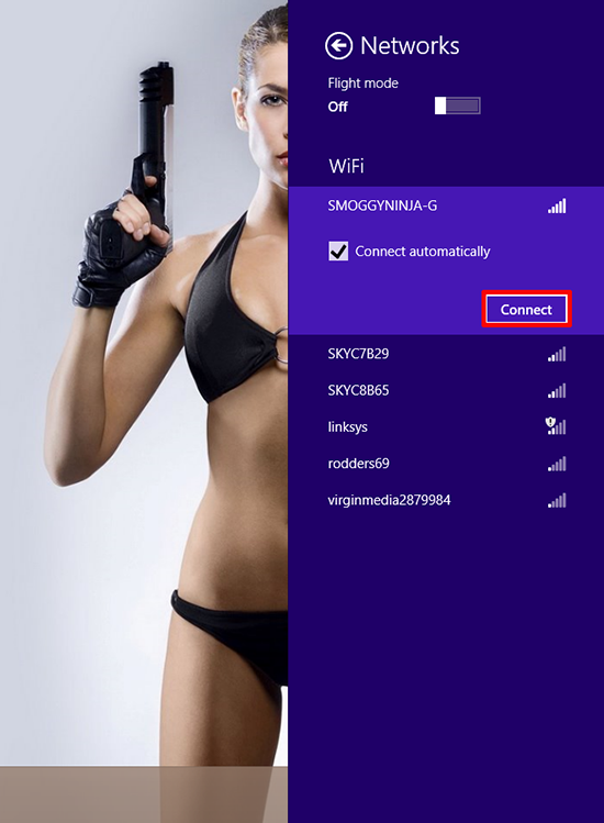 Windows 8 View Wireless Networks