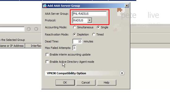 AAA Server RADIUS