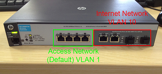 E-MSM720 VLAN Assignment