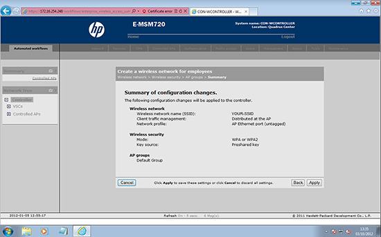 MSM720 WPA Key