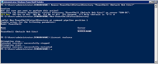 Remove Powershell Command