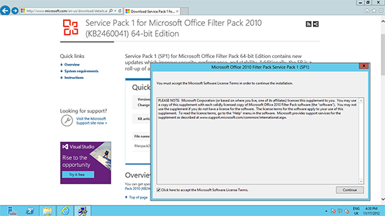 Office 2010 Filter Pack SP1