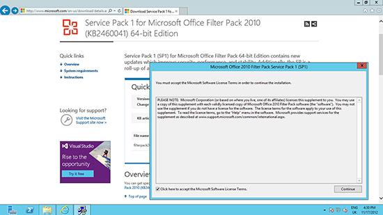 Office 2010 Filter Pack SP1