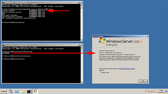 Server 2008 R2 Locate FSMO Roles