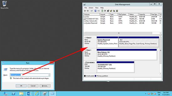 Server 2012 diskmgmt.msc