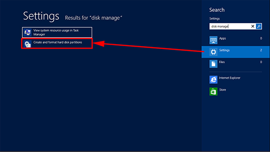 Server 2012 Create and Format Disk Partitions