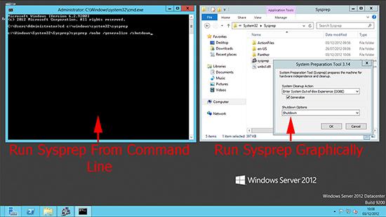 Server 2012 sysprep