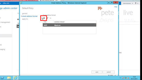 Exchange 2013 Edit Default Policy