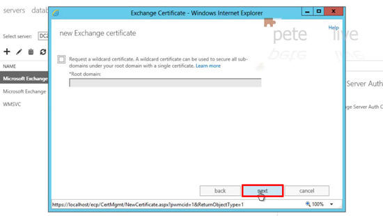 2013 Wildcard Certificate