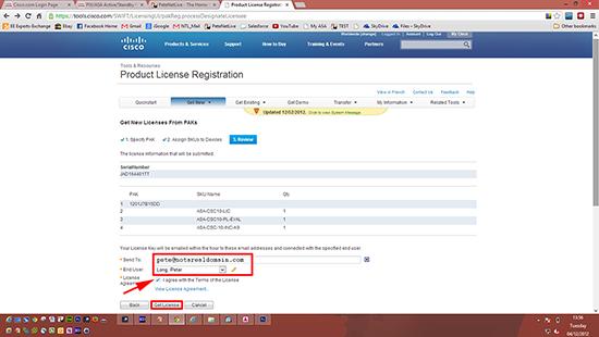 Get CSC License
