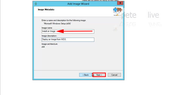Install an Image WDS
