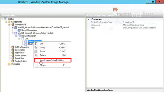 WDS2012 New Disk Configuration