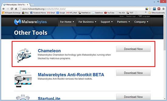 malwarebytes chameleon download