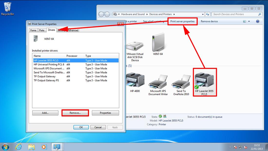 PeteNetLive - KB0000751 - Windows 7 - Print Spooler Keeps Stopping