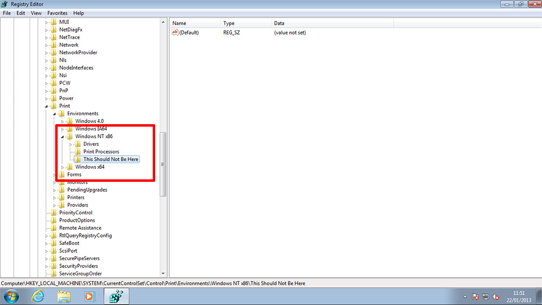 Windows 7 � Print Spooler Keeps Stopping   Treese.co Knowledge Base