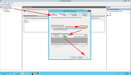 Define Remote Desktop Gateway Server.