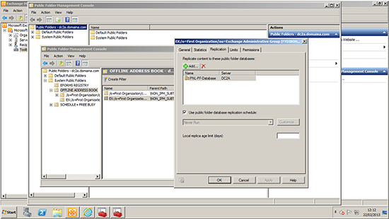 Exchange 2010 Public Folder OAB