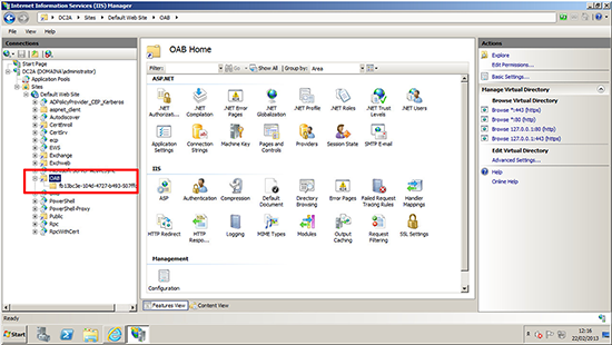 Exchange 2010 Public Folder Web Site