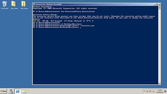 PowerShell Run Script