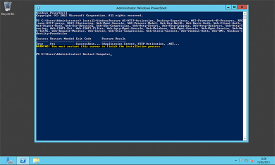 Exchange 2013 Server Roles via PowerShell